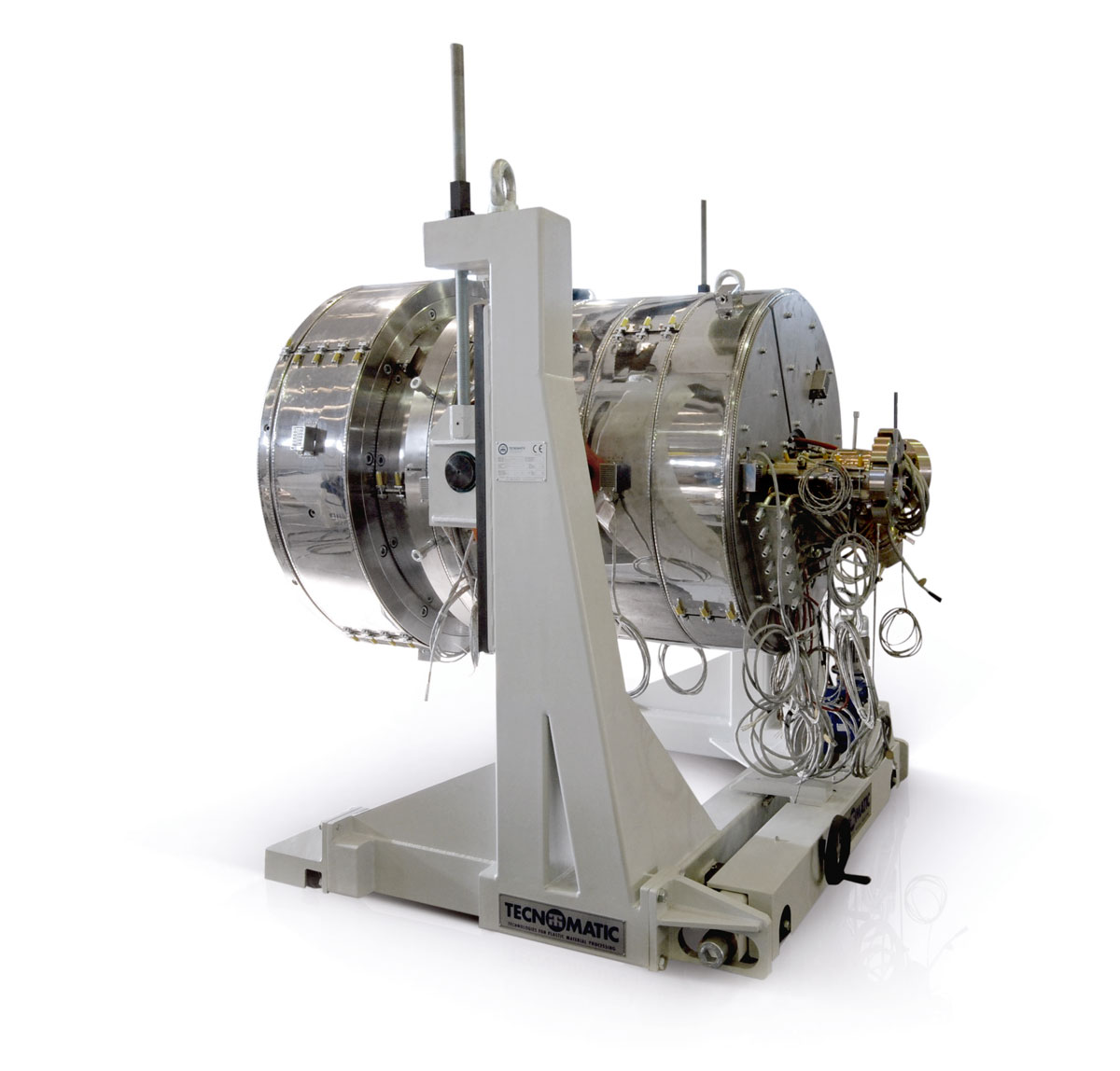 Testa di estrusione Juno per materie plastiche, Tecnomatic