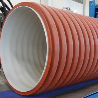 Corrugated Pipes Extrusion Line, Tecnomatic