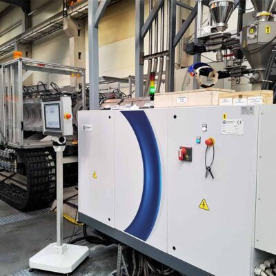 Corrugated Pipes Extrusion Line, Tecnomatic