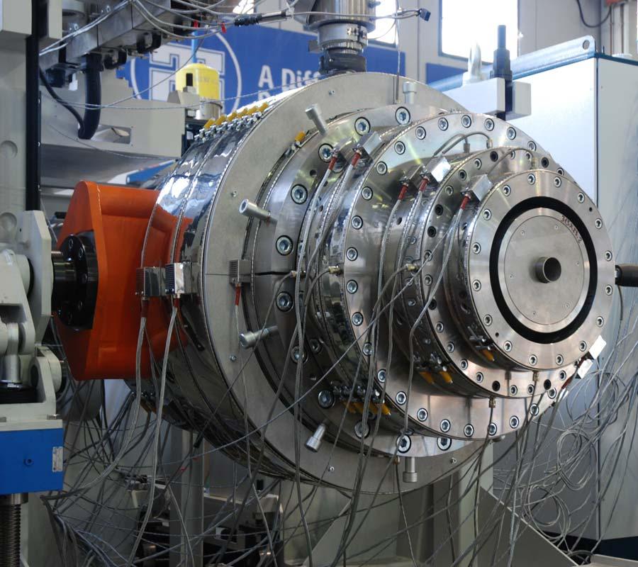 Extruders production Tecnomatic