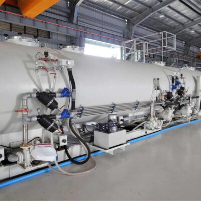 Extrusion Calibration Tanks for plastics, Tecnomatic