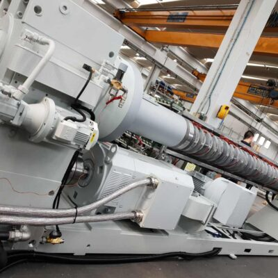 Vega Extruder for plastics, Tecnomatic