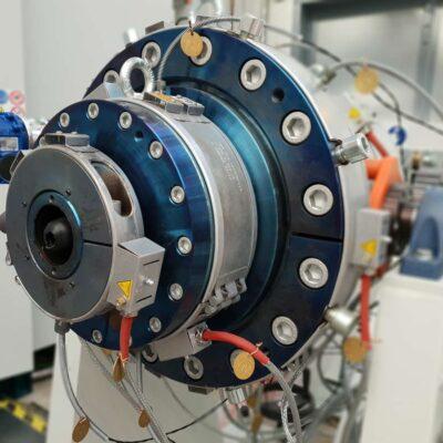 Venus Monolayer Extrusion Die-Head for plastics, Tecnomatic